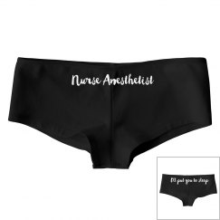 Nurse Anesthetist Women's Undies