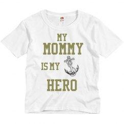 Mommy is My Hero (Navy)
