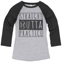 Straight Outta Baseball Practice