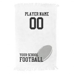 Custom Football Player Towel