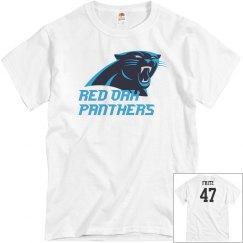 Red Oak Panthers Parent Shirts