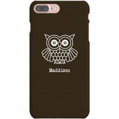 Owl Case with Custom  Name