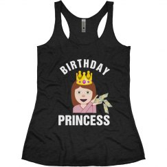 Birthday Emoji Princess
