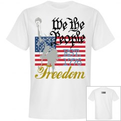 Johnny Dappa Trading Co. Premium We The People T-Shirt