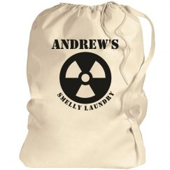 Andrew's smelly laundry