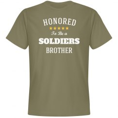 Honored soldiers brother