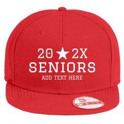 Seniors 2020 Custom Flatbill Snapback Hat
