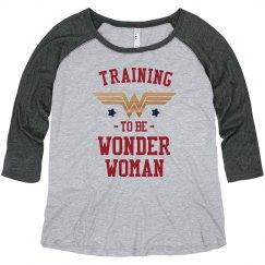 Metallic Wonder Woman Training