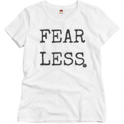 One Word Tee: FEARLESS