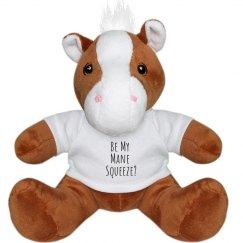 God Love's You Stuffed Pony