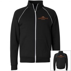Copperstate Unisex Full Zip Fleece Track Jacket