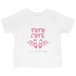Toddler - Tutu Cute Ruffle Tee