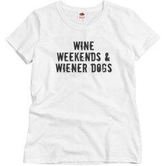 Wine & Weekends - Ladies