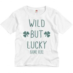 Wild But Lucky Custom Youth Tee