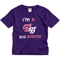 Big Sister Ladybug Tee