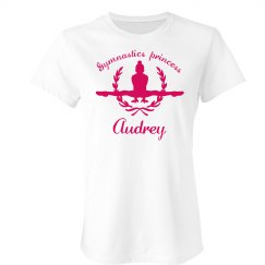 Audrey. Gymnastics princess