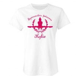 Kylie. gymnastics princess