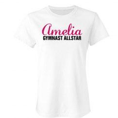 Amelia. Gymnast Allstar