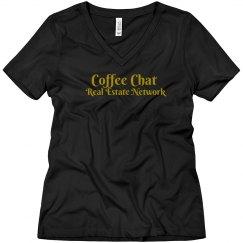 Coffee chat Glitter Gold - women