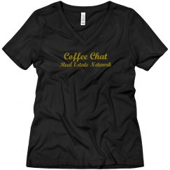 Coffee chat Glitter Gold - women