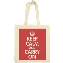 Keep Calm on a Budget