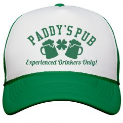 Paddys Pub Green St Patricks Hat