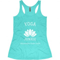 Yoga Junkie Enlighten Your Lives
