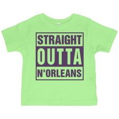 Straight Outta N'Orleans Mardi Gras