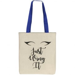 Just Wing It Eyeliner Tote Bag