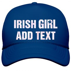 Pearlescent Irish Girl Hat