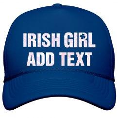 Pearlescent Irish Girl Hat