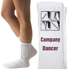 Adult size company socks