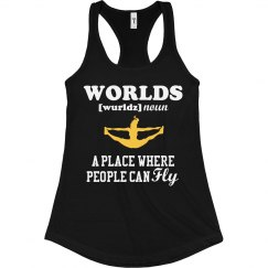 Worlds Cheer Fly Tank