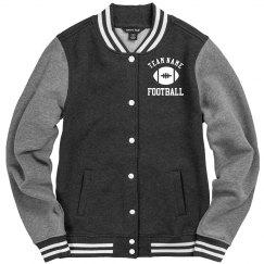 Custom Football Team Letterman