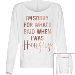 Hungry long sleeves