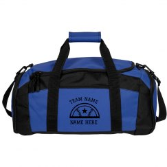 Customizable Baseball Duffel Bag