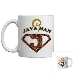 Java Man Coffee Humor Mug