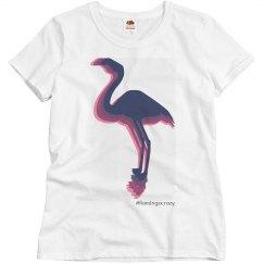 flamingo rainbow