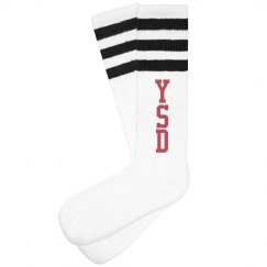 Yanarella Tube Socks-Black