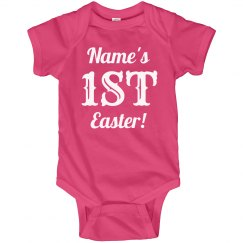 Cute Custom 1st Easter Baby