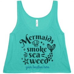 Custom Mermaid Spring Break Vacation