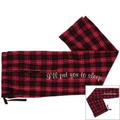 PJ Pant- I'll put you to sleep