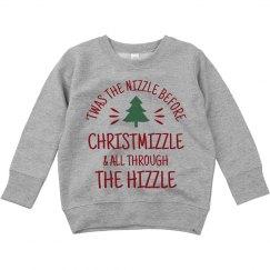 Snoop Dogg Christmas Sweater Nizzle Unisex Ultimate Cotton Crewneck