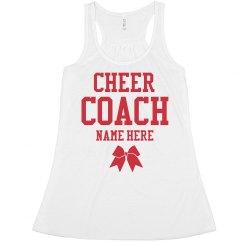Custom Cheer Coach Crop