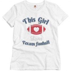 Loves Texans bling