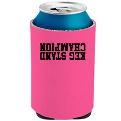 Pink Beer can coolie