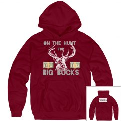 Big Bucks Hoodie Red💰💰💰