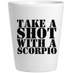 Take A Shot With A Scorpio Glass
