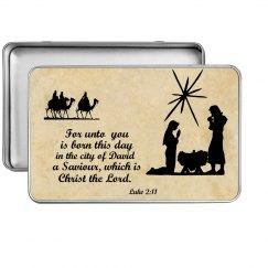 Nativity tin