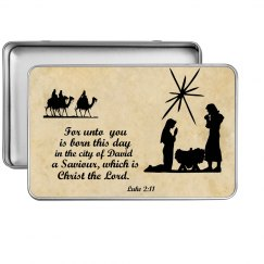 Nativity tin
